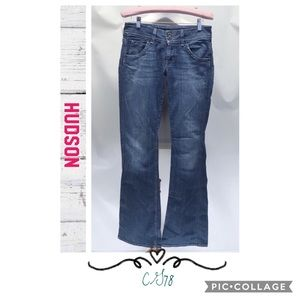 🌻Hudson Classic mid rise bootcut Jeans🌻
